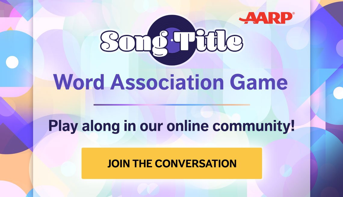 Song Title Word Association Game- Play along in our online community. Join the conversation.