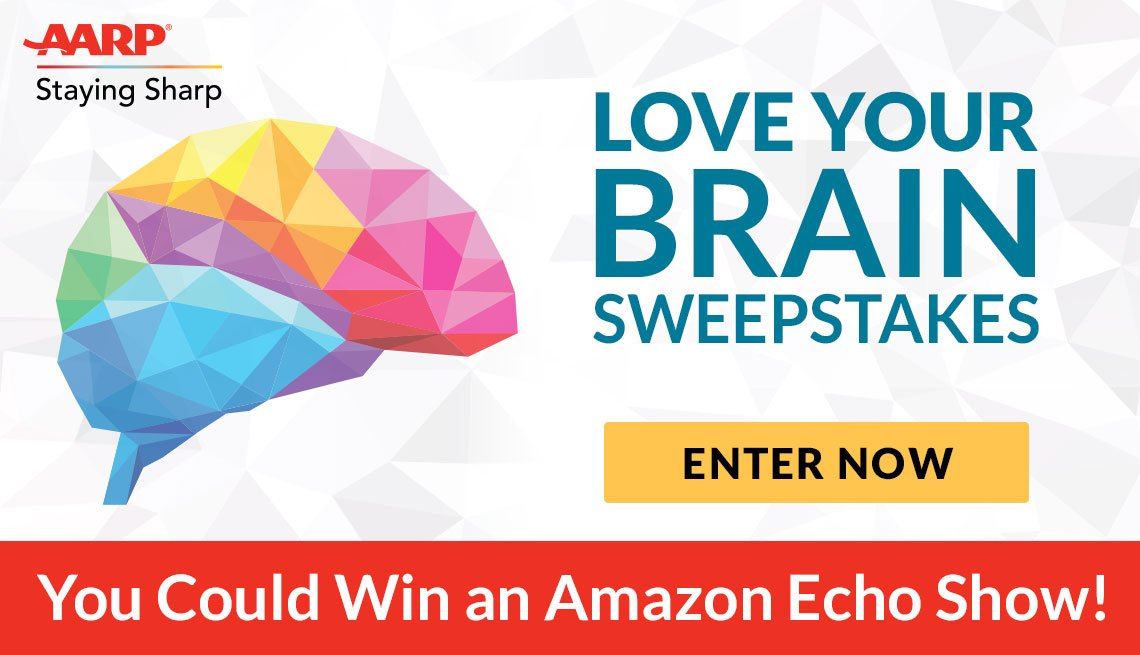 Love Your Brain Sweepstakes - Enter Now
