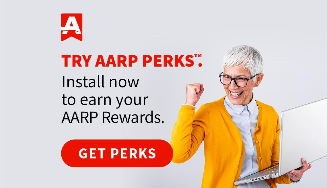 AARP Perks and Rewards Right Rail