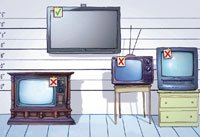 Charities may not want your old TV sets