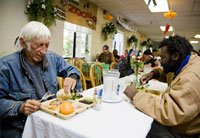Food bank in California - AARP Foundation Drive to End Hunger