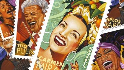 Commemorative Stamps Rafael López