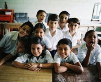 Niños de colegio