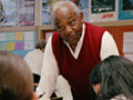 AARP Experience Corps volunteer in classroom
