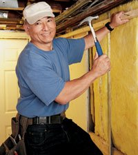 Jerry Lui gives through Rebuilding Together