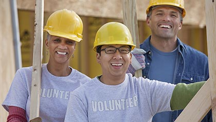 AARP promotes and supports volunteerism among its membership