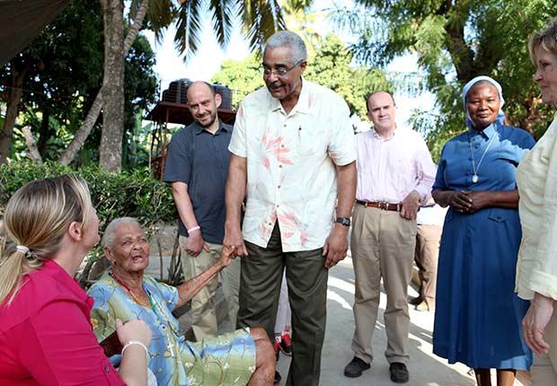 Barry Rand AARP volunteer Haiti leadership trip