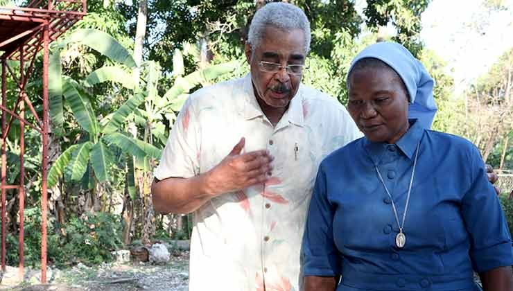 barry rand st. vincent de paul sister claudette charles aarp  haiti