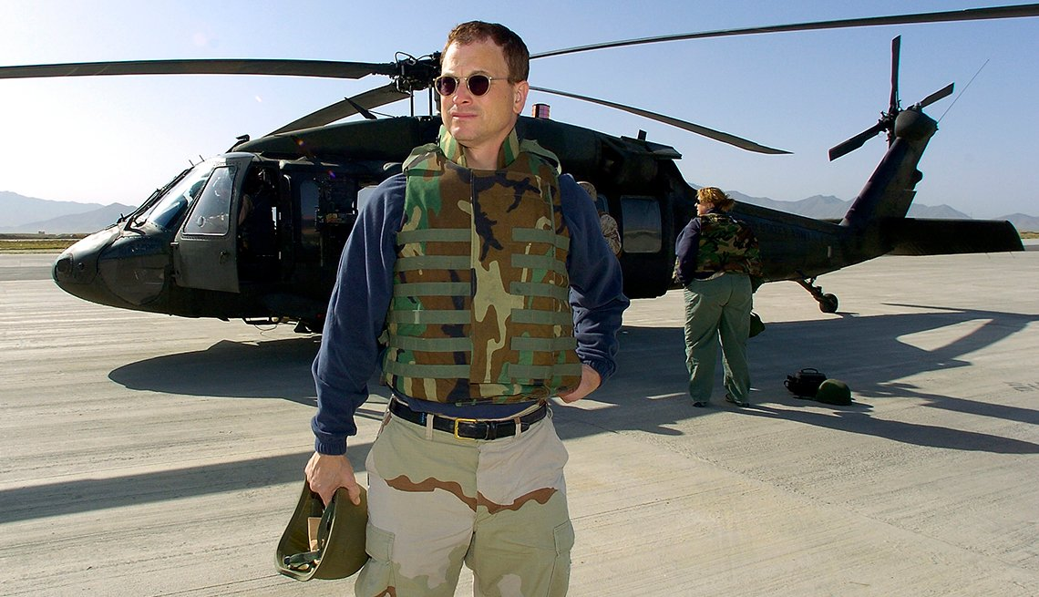 Gary Sinise, Personal Best: My Cause, USO Tour
