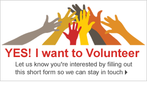 Yes I want to volunteer