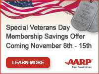 Special Veterans Day Membership Savings Offer