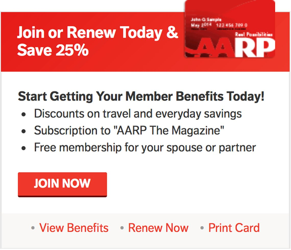 join or renew today and save 25