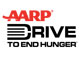 AARP Drive to End Hunger logo