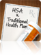 hsa v. traditional health plan tool