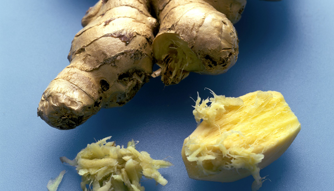Fresh Ginger, Foods That Help Alleviate Pain