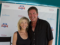 AARP The Magazine Editor-in-Chief Nancy Graham with AARP Ambassador Dan Marino