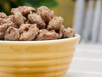 Amy's Cinnamon Almonds, Think Food Recipes for Brain Fitness