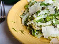 Asparagus & Fennel Salad, Think Food Recipes for Brain Fitness