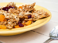 Fruited Granola, Think Food Recipes for Brain Fitness