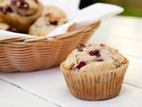 Pecan, Cranberry & Orange Muffins, Think Food Recipes for Brain Fitness