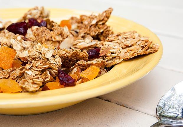 Granola - Alimentos que mejoran la capacidad mental