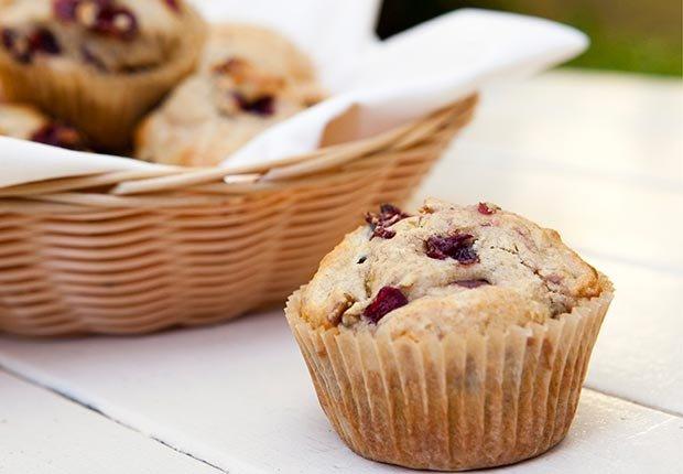 Pastel de arándanos con nueces - Alimentos que mejoran la capacidad mental