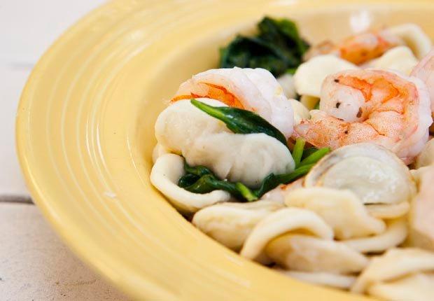 Orecchiette con espinacas - Alimentos que mejoran la capacidad mental