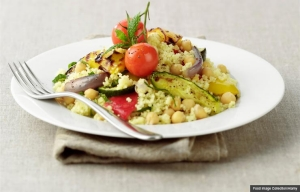Cous cous with vegetables; Mediterranean diet supports brain health. (Food Image Collection/Alamy)