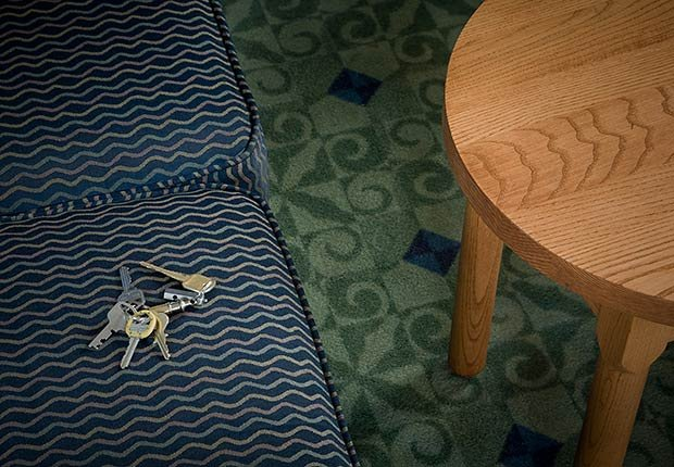 Muebles y un set de llaves - Trucos para recordar las cosas cotidianas - Mejorar la memoria