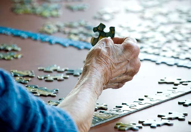 Keep Playing Childhood Games Puzzle Pieces Hand ESP