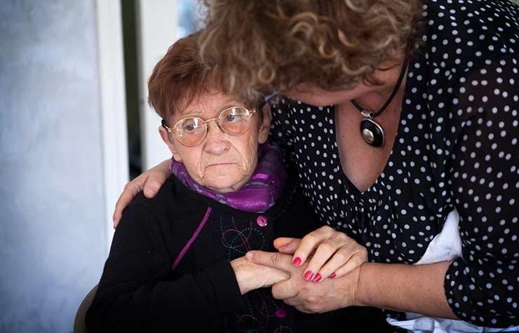 Why No War On Alzheimer's Disease Caregiver Women Hands