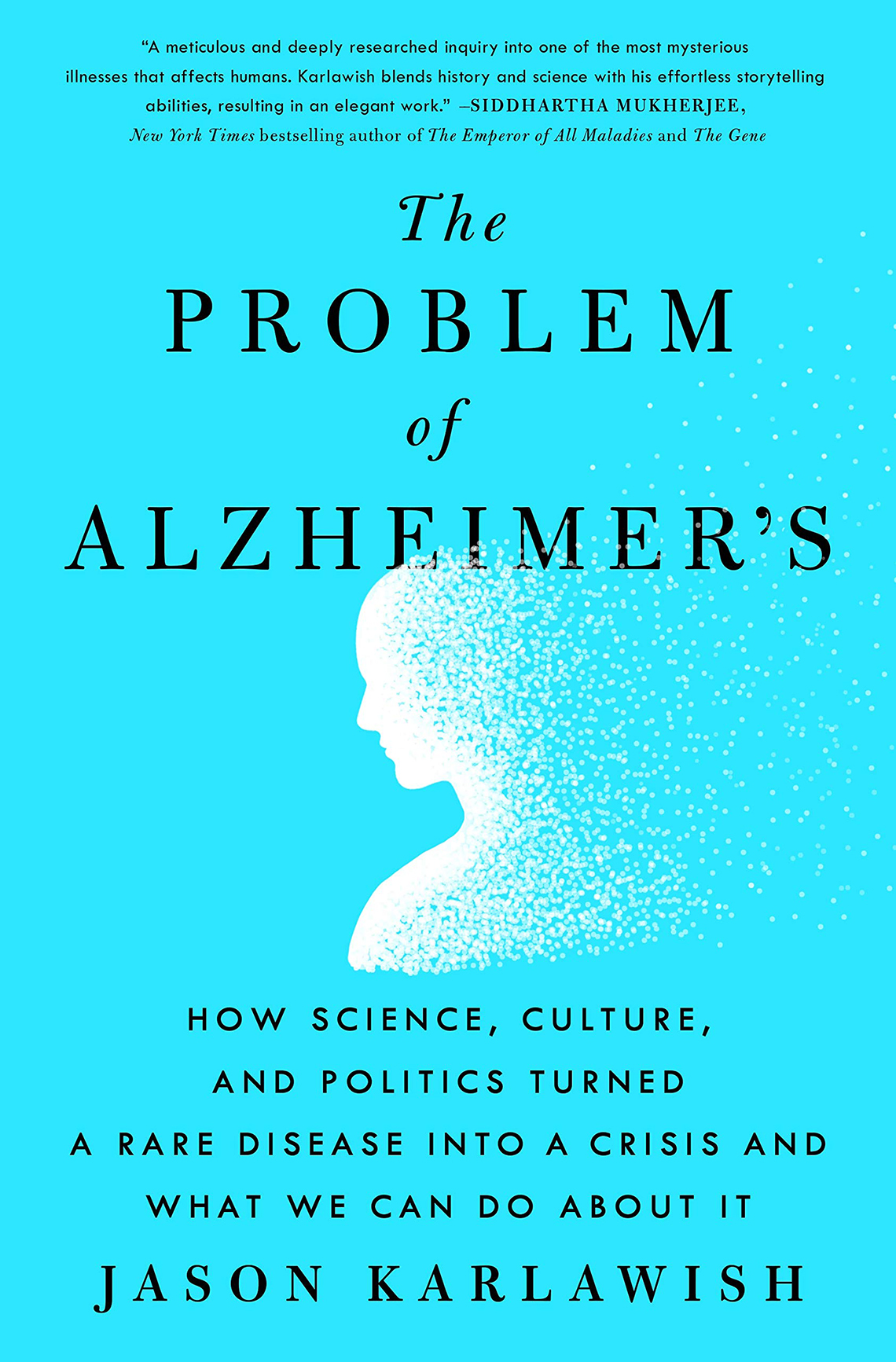 Problem of Alzheimer's book cover