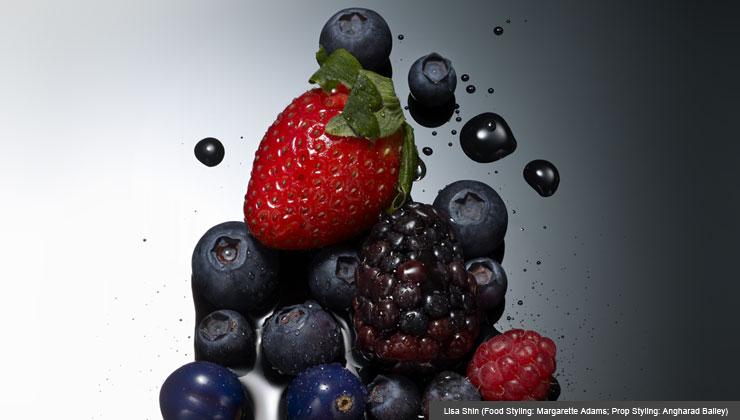 Health Nutrition—Berries!