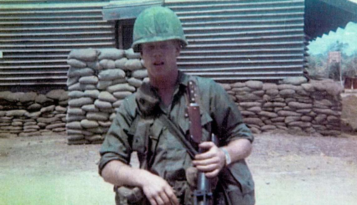 Long Shadow PTSD Bill Heaney 1968