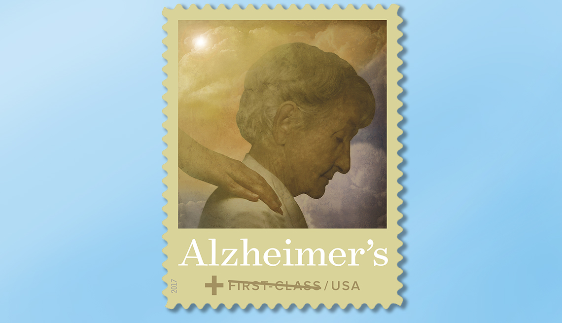 Special USPS Stamp for Alzheimer's Awareness