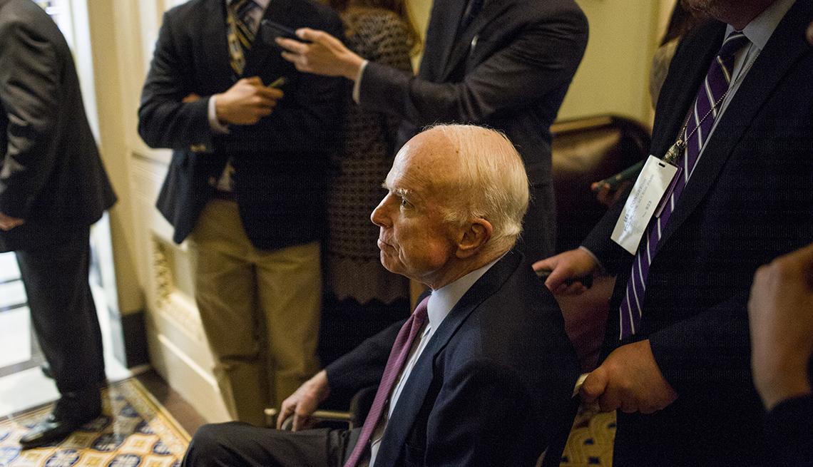 Senator John McCain, Glioblastoma