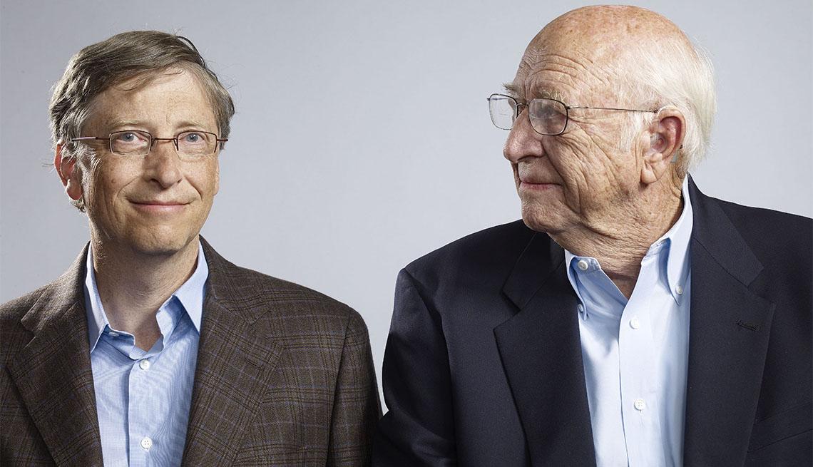 Bill Gates and His Father Bill Gates Sr.