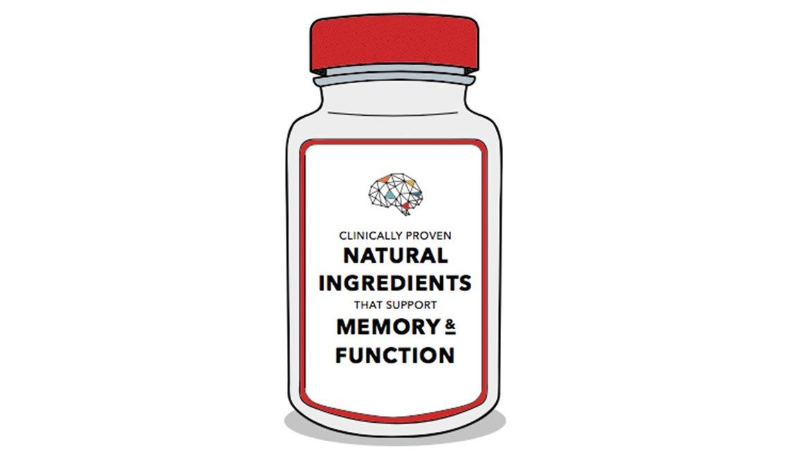 Supplements bottle graphic