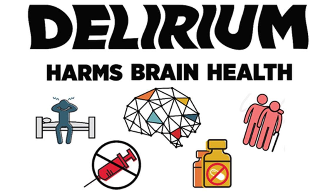 Infographic: Delirium Harms Brain Health