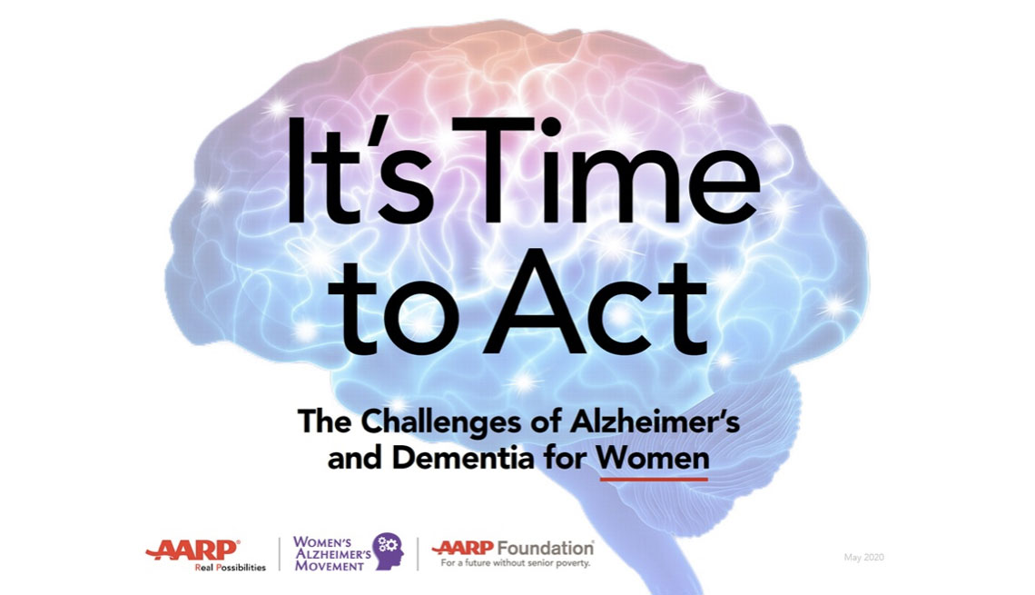 It's Time to Act: The Challenges of Alzheimer's and Dementia for Women cover image