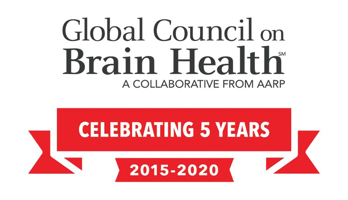 AARP Global Council on Brain Health Celebrating 5 Years