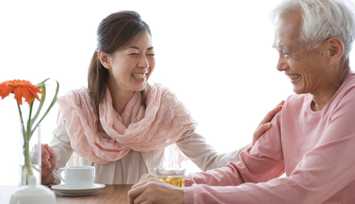 Humor Lightens Caregiving Stress