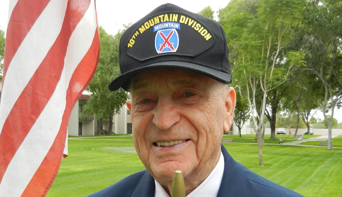 Robert Goyer, veterano de Estados Unidos