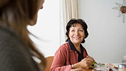 Mujer con Alzheimers
