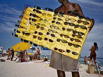 Gafas oscuras para proteger los ojos