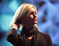 Olivia Newton-John rehearses at 'Kaleidoscope'