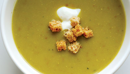 Sopa de alverjas
