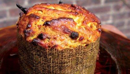 Muffins de uvas pasas