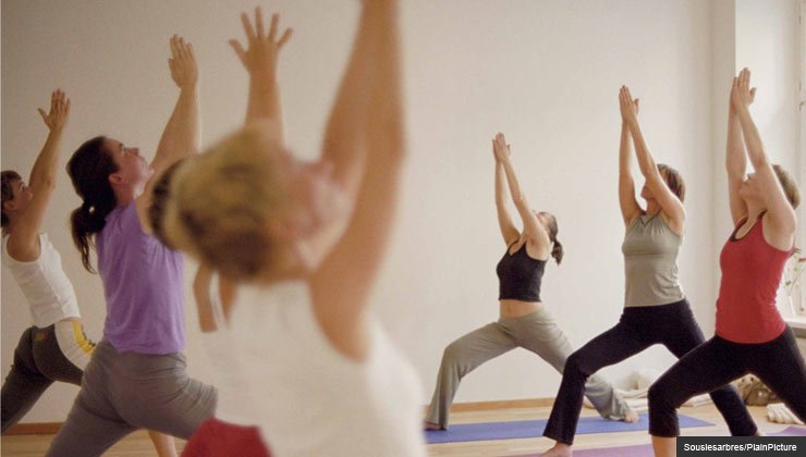 Yoga studio - yoga improves function in patients suffering from low back pain.