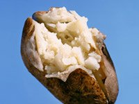 Yes, a baked potato is good for your blood pressure